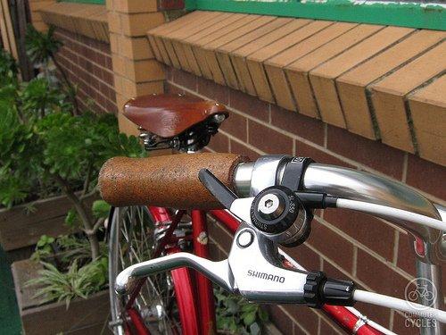 NEW Velo Orange Natural Cork Bicycle Handlebar Grips RETRO fixed COOL