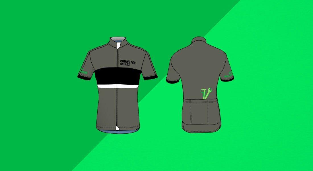 Preview of Commuter Cycles Merino Jersey